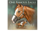 One Famous Eagle, western artist, Mikel Donahue