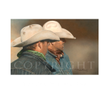The Jury's still out, Mikel Donahue, Western Artist