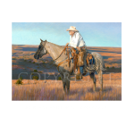 New leather old memories, western artist, Mikel Donahue