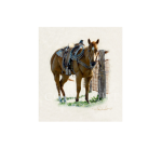Rusty, western artist, Mikel Donahue