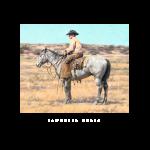 sandhills colt, western artist, Mikel Donahue