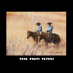 Tall grass safari, western artist, Mikel Donahue