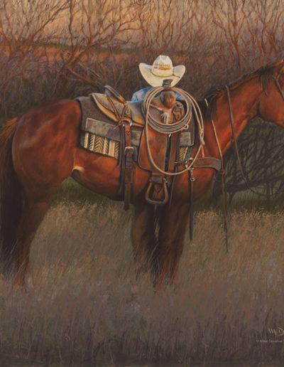 5 o'clock in the Texas Morning18x24Acrylic