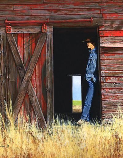 Somewhere West of Abilene18x20Acrylic